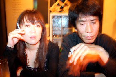 Photograph of Naoki and Yoshi